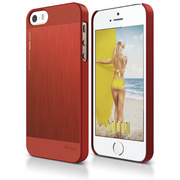 S5 Outfit Matrix Case for iPhone 5/5s/SE - Red