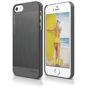 S5 Outfit Matrix Case for iPhone 5/5s/SE - Dark Gray
