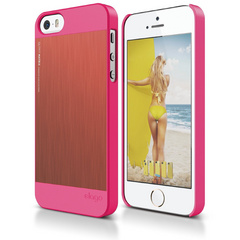 S5 Outfit Matrix Case for iPhone 5/5s/SE - Hot Pink / Italian Rose