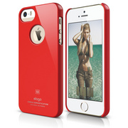 S5 Slim Fit Case for iPhone 5/5s/SE - Extreme Red