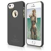 S5 Slim Fit Case for iPhone 5/5s/SE - Soft Dark Gray