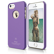 S5 Slim Fit Case for iPhone 5/5s/SE - Soft Purple