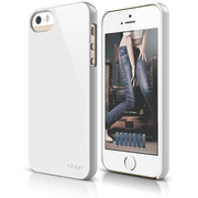 S5 Slim Fit 2 Case for iPhone 5/5s/SE - White