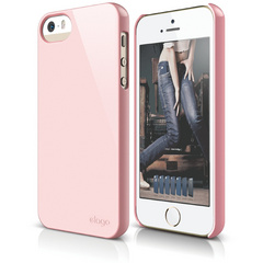 S5 Slim Fit 2 Case for iPhone 5/5s/SE - Lovely Pink