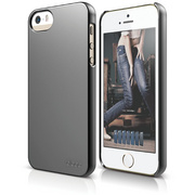 S5 Slim Fit 2 Case for iPhone 5/5s/SE - Metallic Dark Gray
