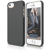 S5 Slim Fit 2 Case for iPhone 5/5s/SE - Soft Dark Gray