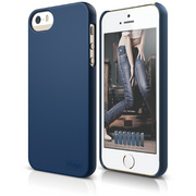 S5 Slim Fit 2 Case for iPhone 5/5s/SE - Soft Jean Indigo
