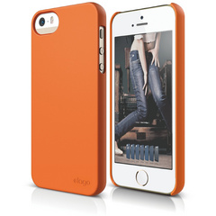 S5 Slim Fit 2 Case for iPhone 5/5s/SE - Soft Orange