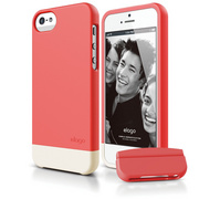 S5 Glide Case with Extra Bottom Clip for iPhone 5/5s/SE - Soft Italian Rose
