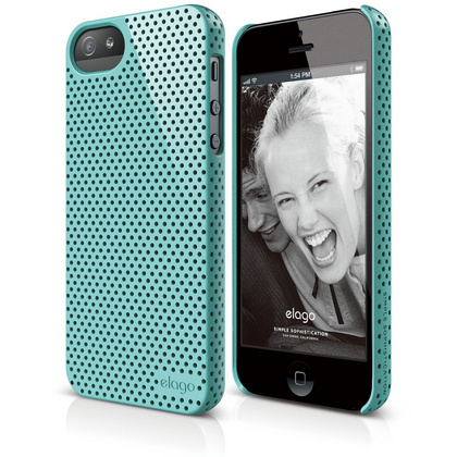 S5 Breath Case for iPhone 5/5s/SE - Coral Blue