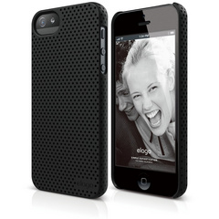 S5 Breath Case for iPhone 5/5s/SE - Soft Black