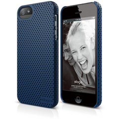 S5 Breath Case for iPhone 5/5s/SE - Soft Jean Indigo
