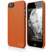 S5 Breath Case for iPhone 5/5s/SE - Soft Orange