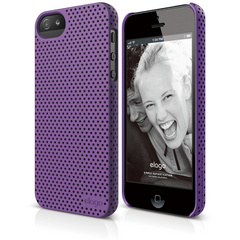 S5 Breath Case for iPhone 5/5s/SE- Soft Purple