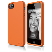S5 Flex Case for iPhone 5/5s/SE - Orange