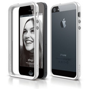 S5 Bumper Case for iPhone 5/5s/SE - White