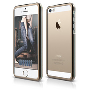S5 Aluminium Bumper Case for iPhone 5/5s/SE - Champagne Gold