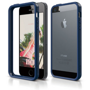 S5 Bumper Case for iPhone 5/5s/SE - Jean Indigo