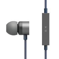 E502M Control Talk In-Ear Earphones - Dark Gray / Jean Indigo