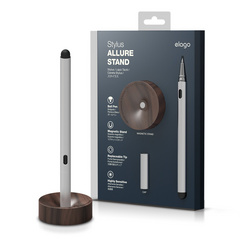 Allure Wood Stand Stylus - Walnut