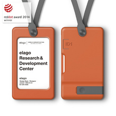 USB ID Card Holder - Orange