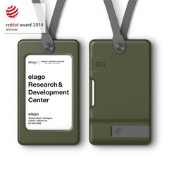 USB ID Card Holder - Camo Green