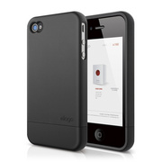 S4 Glide Case for iPhone 4/4s - Soft Black