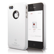 S4 Slim Fit Case for iPhone 4/4s - White