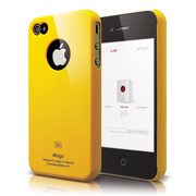 S4 Slim Fit Case for iPhone 4/4s - Sport Yellow