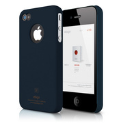 S4 Slim Fit Case for iPhone 4/4s - Soft Jean Indigo