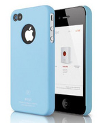 S4 Slim Fit Case for iPhone 4/4s - Soft Pastel Blue