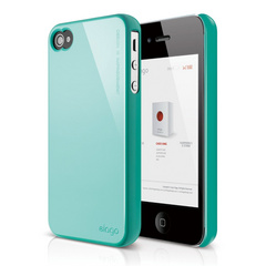 S4 Slim Fit 2 Case for iPhone 4/4s - Coral Blue