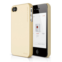 S4 Slim Fit 2 Case for iPhone 4/4s - Semigloss Vanilla