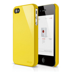 S4 Slim Fit 2 Case for iPhone 4/4s - Sport Yellow