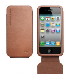 S4 Leather Folder Case for iPhone 4/4s