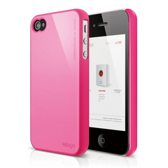S4 Slim Fit 2 Case for iPhone 4/4s - Hot Pink
