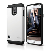 Duro Case for Galaxy S5 - Black / White