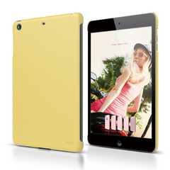 A4R Slim Fit Case for iPad Mini Retina - Semi Glossy Pastel Yellow