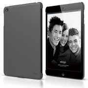 A4M Slim Fit Case for iPad Mini - Soft  Dark Gray