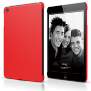 A4M Slim Fit Case for iPad Mini - Soft Red