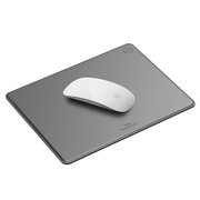 Genuine Leather Mouse Pad - Dark Gray